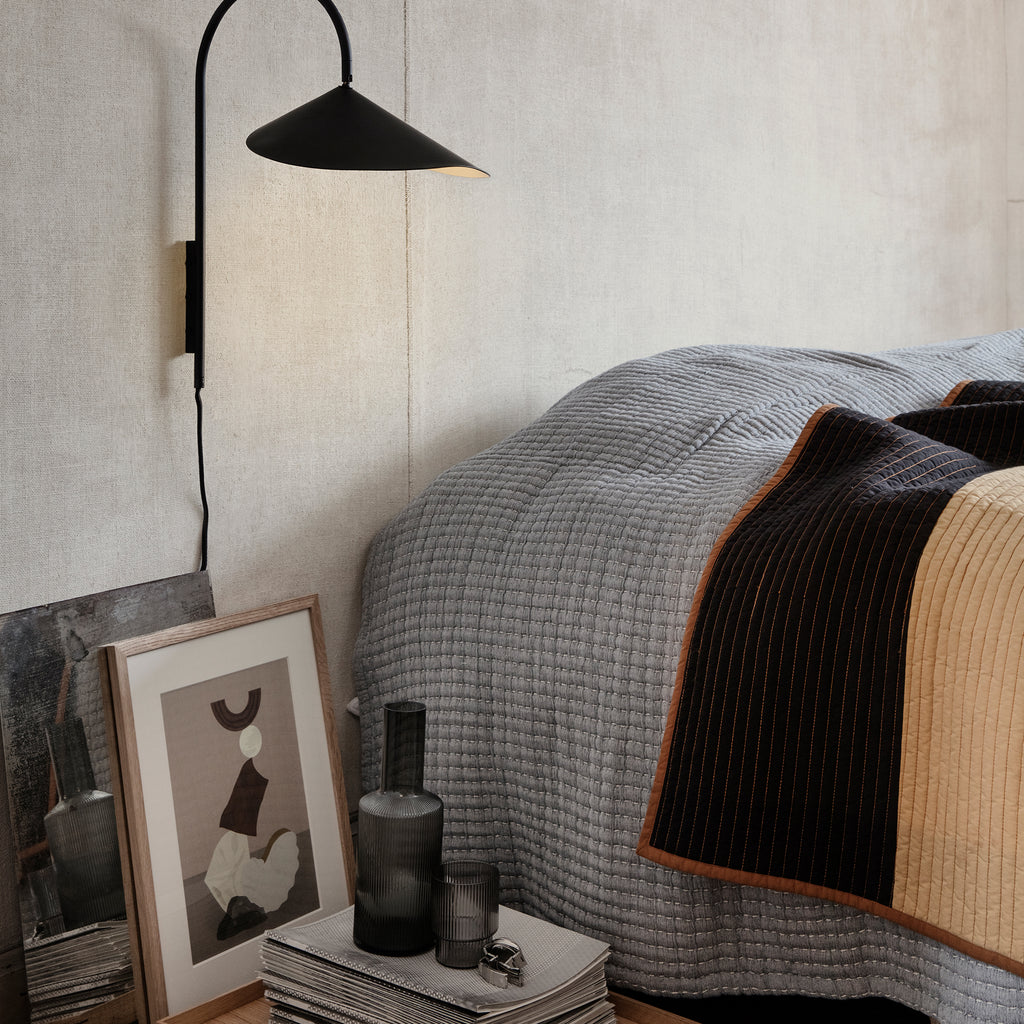 Shay Patchwork Quilt Blanket by Ferm Living