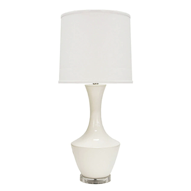 Ceramic Table Lamp in Various Colors