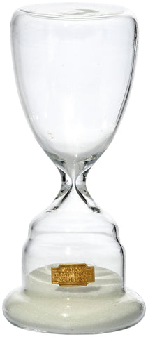 Trophy Shaped Sandglass White NO.1 design by Puebco