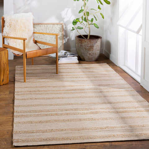 Fiji Rug in Neutral & Yellow
