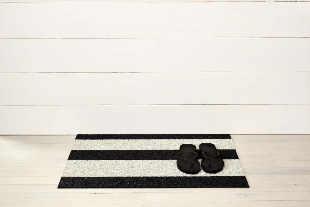 Bold Stripe Shag Mats in Various Colors & Sizes