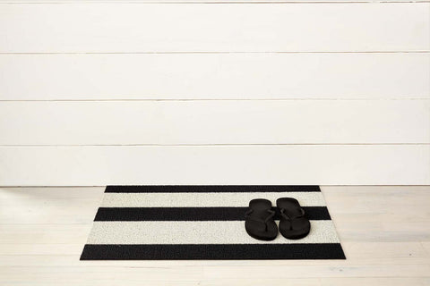 Bold Stripe Shag Mats by Chilewich