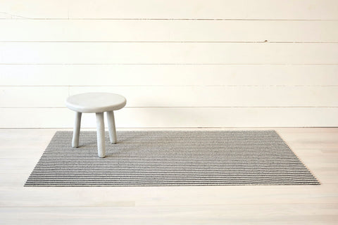 Breton Stripe Shag Mat in Various Colors & Sizes