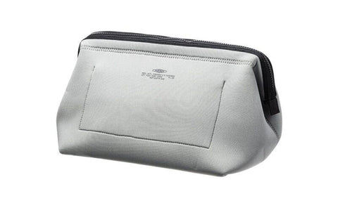 Wired Pouch - Large - Light Gray & Orange design by Puebco