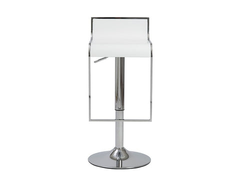 Fortuna Bar/Counter Stool in White design by Euro Style