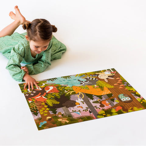 Enchanted Woodland Floor Puzzle by Petit Collage