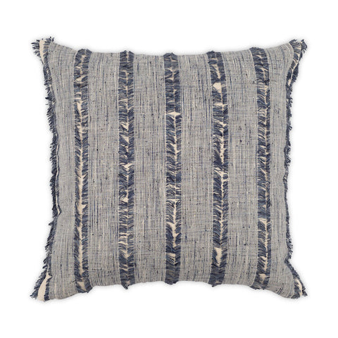 Frayed Denim Pillow design by Moss Studio