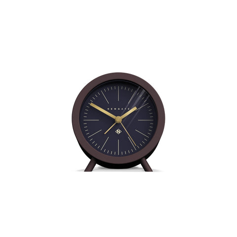 Fred Alarm Clock in Silicone Chocolate Black design by Newgate