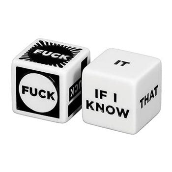 Fuck Yeah! Decision Dice  By Chronicle Books