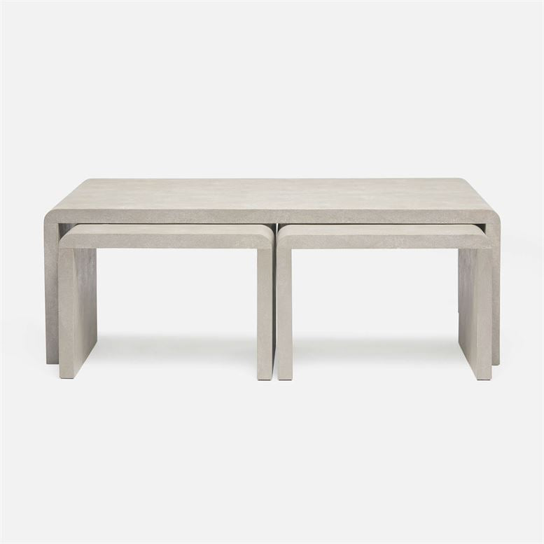 Harlow Nesting Coffee Table design by Made Goods