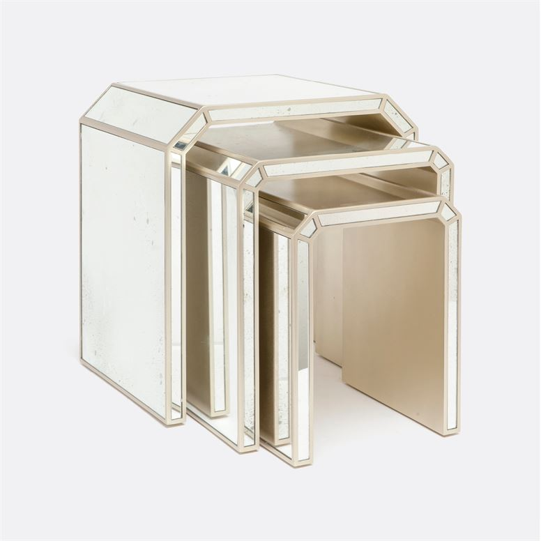 Nicola Nesting Tables design by Made Goods