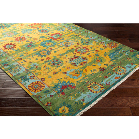 Festival rug in Bright and Grass