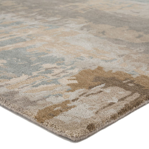Benna Handmade Abstract Brown/ Gray Area Rug by Jaipur Living