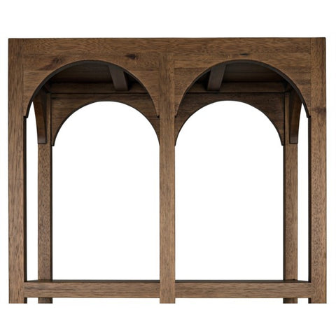 Arco Shelf in Dark Walnut by Noir
