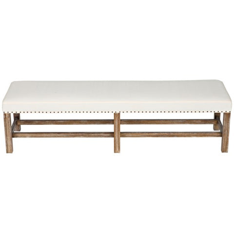 Sweden Bench in Grey Wash