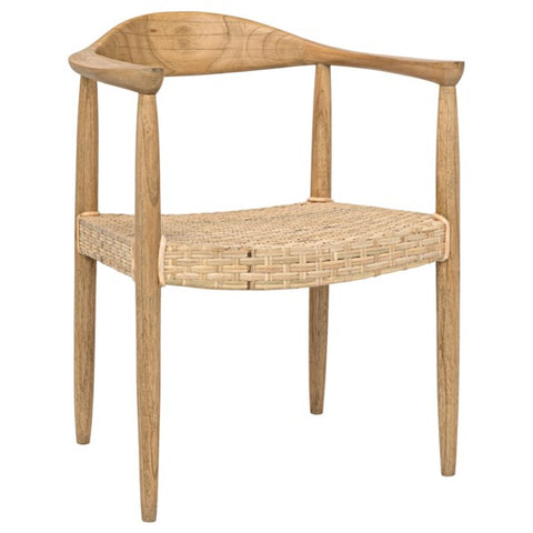 Kiefer Chair in Mindi by Noir
