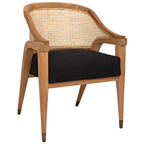 Chloe Chair in Teak by Noir