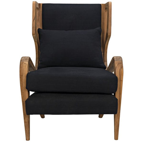 Carol Chair in Teak by Noir