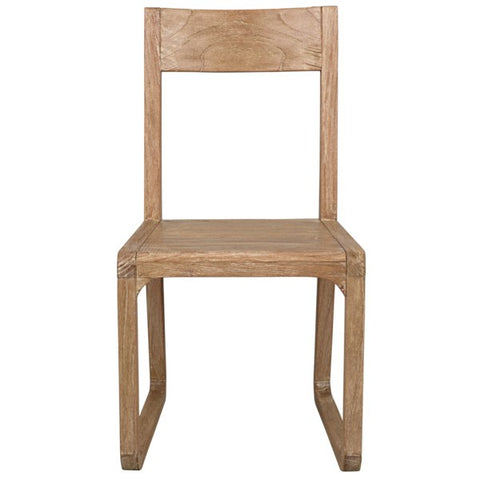 Modal Chair in Distressed Mindi by Noir