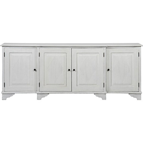 Ellington Sideboard in White Weathered by Noir