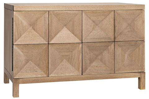 Quadrant 2 Door Sideboard in Various Colors by Noir