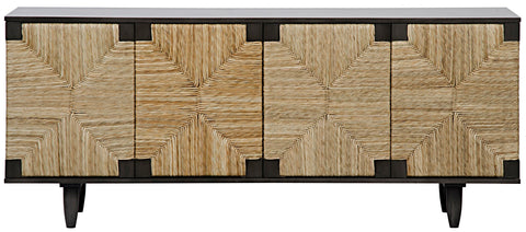 Brook 4 Door Sideboard in Various Colors by Noir