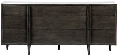 Morten 9 Drawer Dresser in Various Colors by Noir