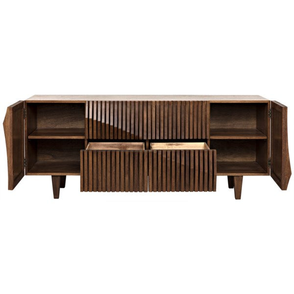 Jin-Ho Sideboard in Dark Walnut by Noir