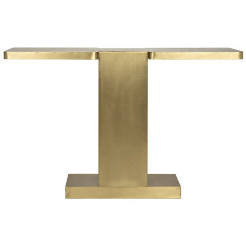 I Console in Antique Brass