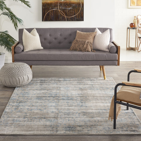 Desert Skies Rug in Teal by Kathy Ireland