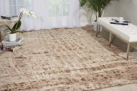 Gemstone Smoky Quartz Area Rug by Nourison