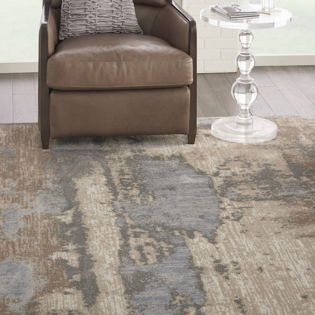 Moroccan Celebration Rug in Grey/Beige by Kathy Ireland