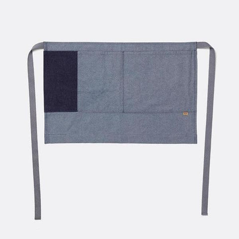 Denim Half Apron in Blue by Ferm Living