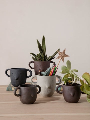 Small Mus Plant Pot in Various Colors by Ferm Living