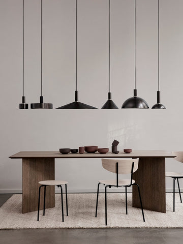 Mingle Table Top in Dark Veneer 210 cm by Ferm Living