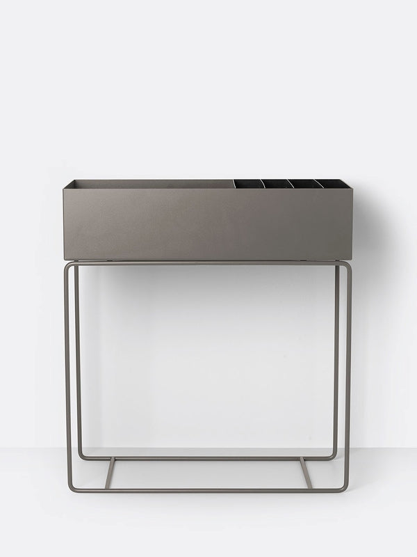 Plant Box Divider in Black by Ferm Living