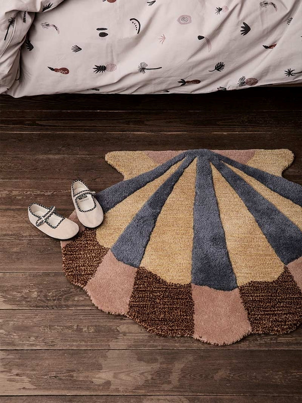 Shell Tufted Wall / Floor Deco Rug by Ferm Living
