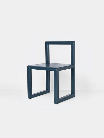 Little Architect Chair in Dark Blue by Ferm Living