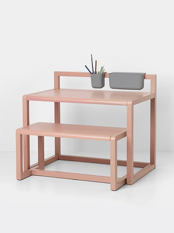 Little Architect Desk in Rose design by Ferm Living