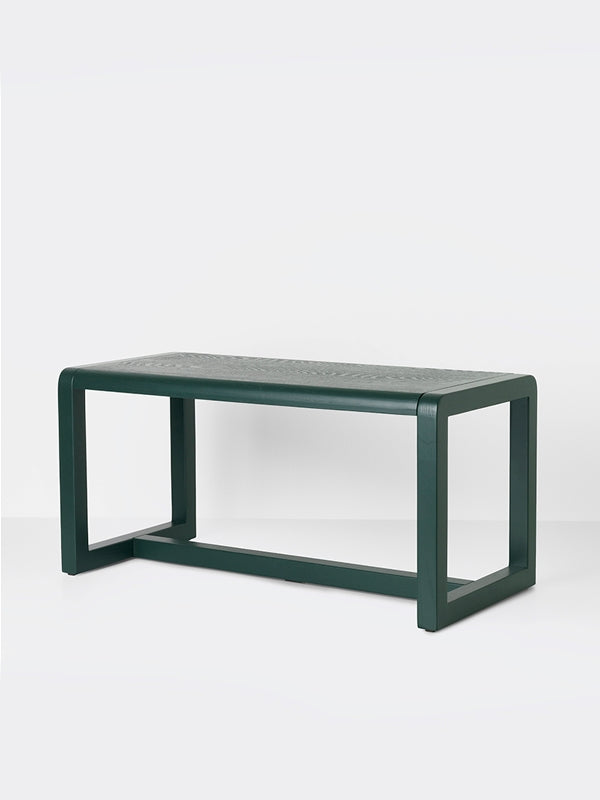Little Architect Table In Dark Green Design By Ferm Living