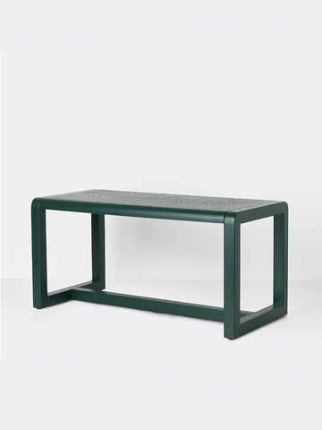 Little Architect Table in Dark Green by Ferm Living