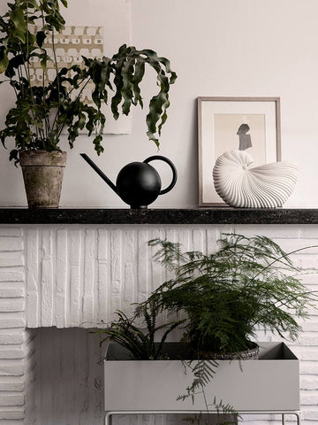 Orb Watering Can in Black by Ferm Living