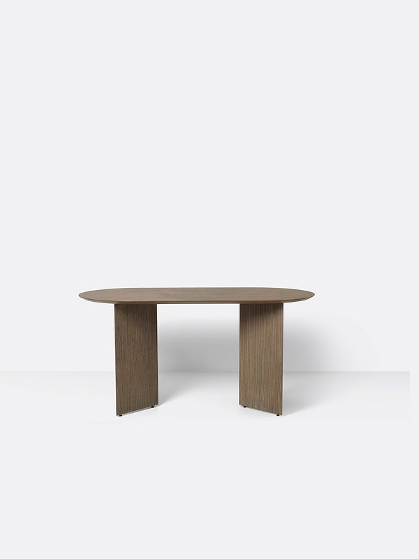 Oval Mingle Table Top in Dark Veneer 150 cm by Ferm Living