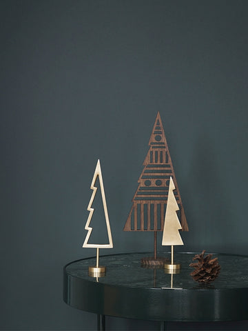 Winterland Brass Tree Solid by Ferm Living
