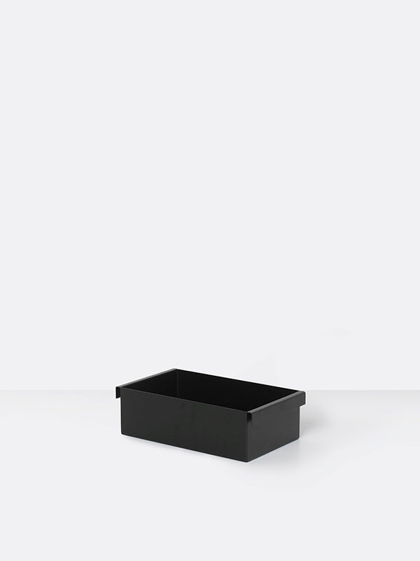 Plant Box Container in Black by Ferm Living