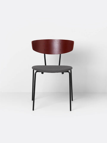 Herman Chair in Red Brown/Warm Grey by Ferm Living