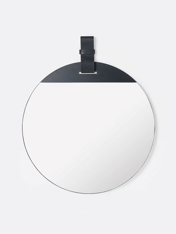 Enter Mirror in Black by Ferm Living