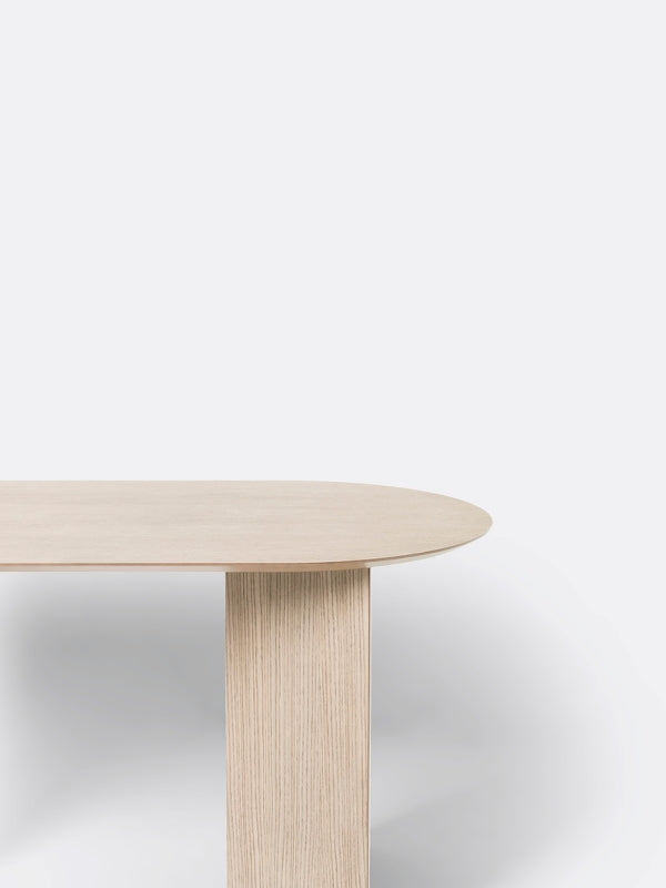 Oval Mingle Table Top in Natural Veneer 150 cm by Ferm Living