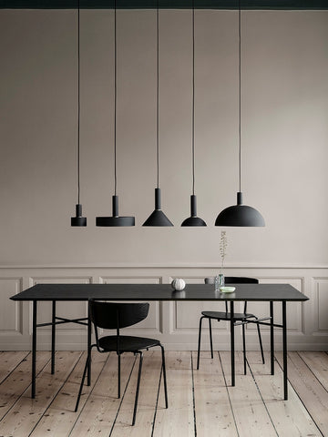 Cone Shade in Black Brass by Ferm Living