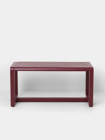 Little Architect Bench in Bordeaux by Ferm Living